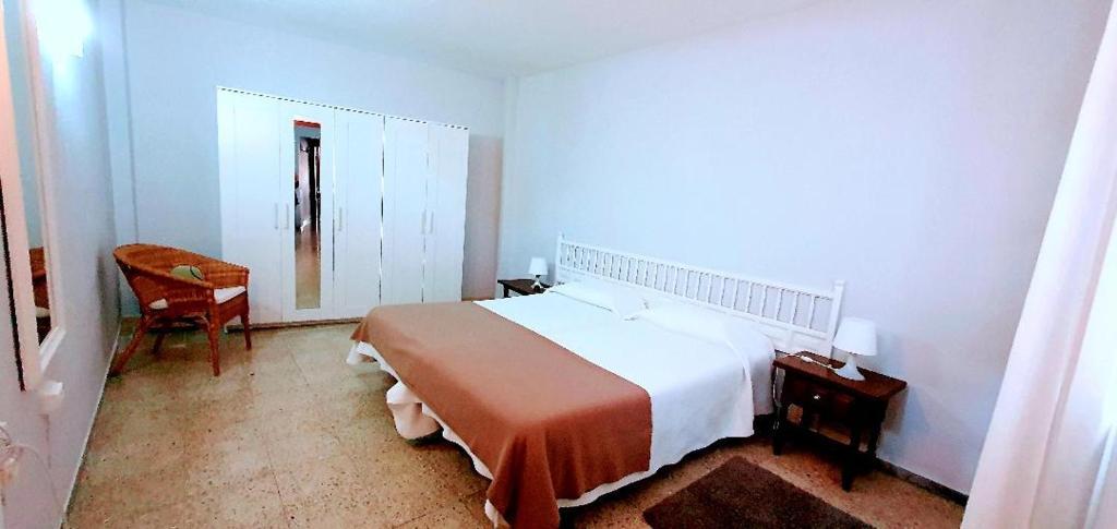 Cama o camas de una habitación en Apartamentos Kitema