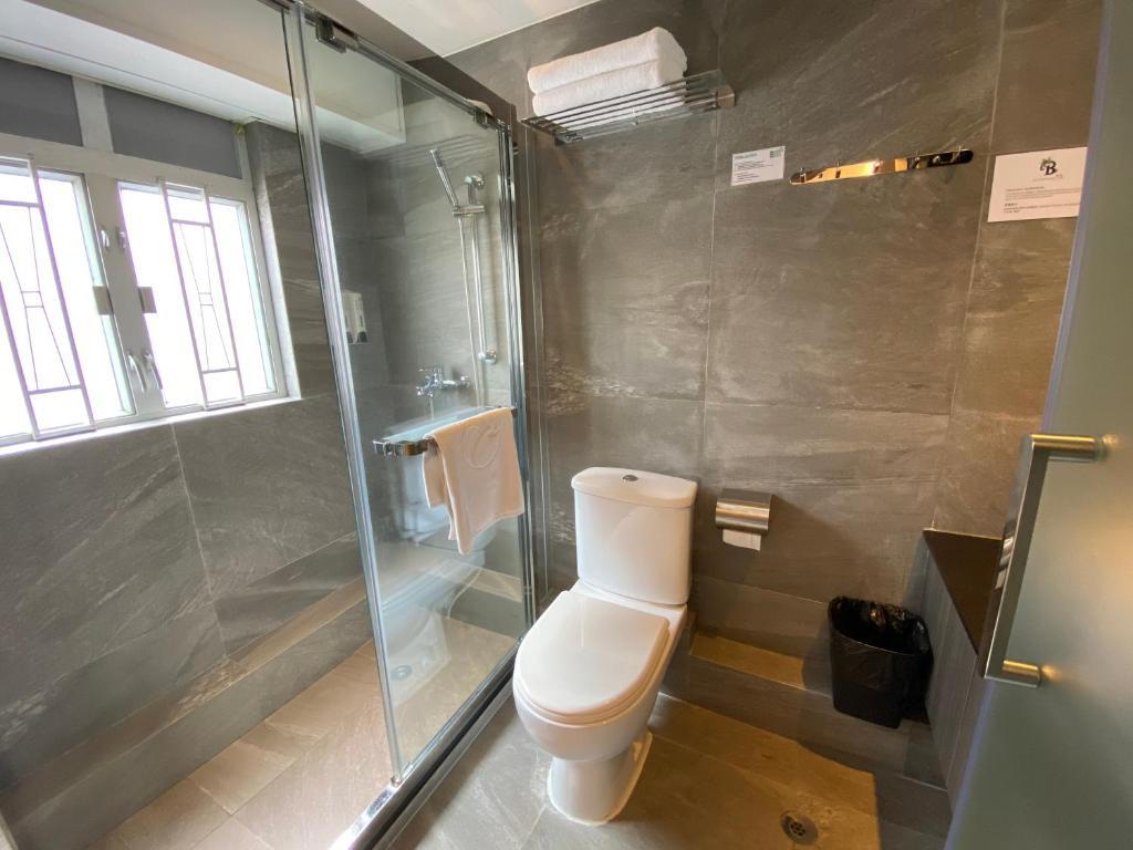 Kúpeľňa v ubytovaní Bloomsbury Inn