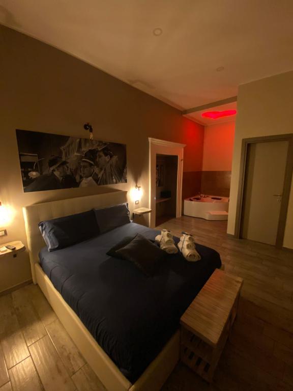 Letto o letti in una camera di Artisti Bed&Dreams