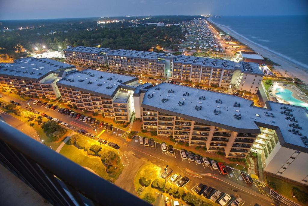 A bird's-eye view of Myrtle Beach Resort