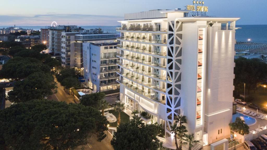 A bird's-eye view of Hotel Sporting
