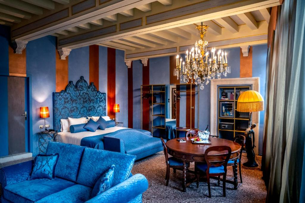 Coin salon dans l'établissement Excess Venice Boutique Hotel & Private Spa