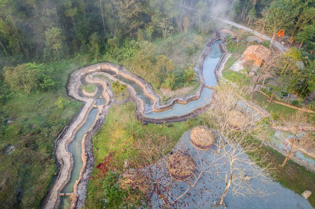 A bird's-eye view of Thanh Tan Hot Springs By Fusion