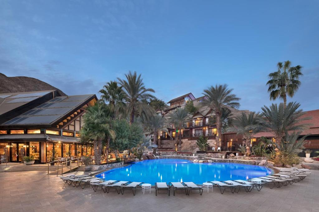 The swimming pool at or near Orchid Eilat Hotel