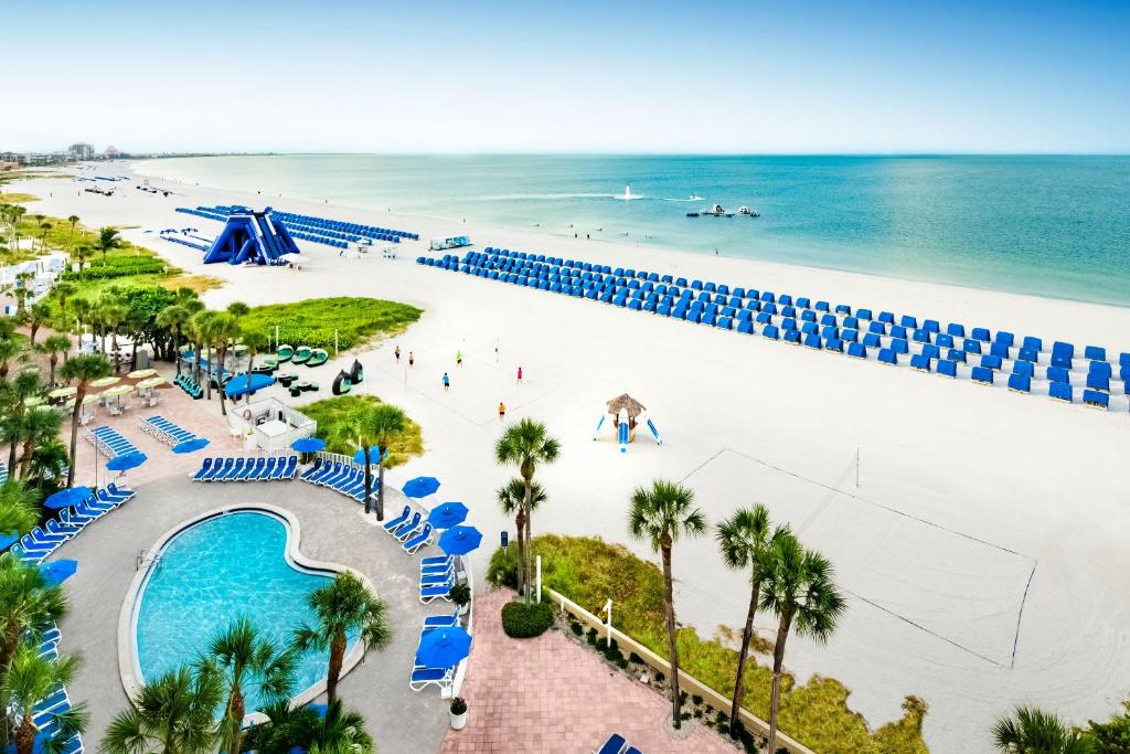 A view of the pool at TradeWinds Island Grand or nearby