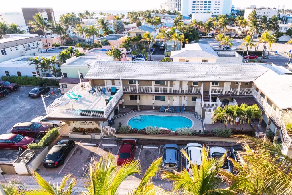 A bird's-eye view of Caribbean Resort Suites