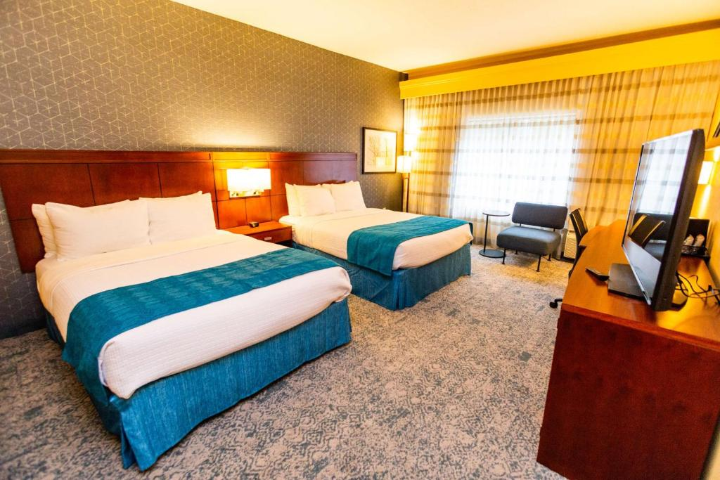 A room at the Best Western Plus Provo University Inn.
