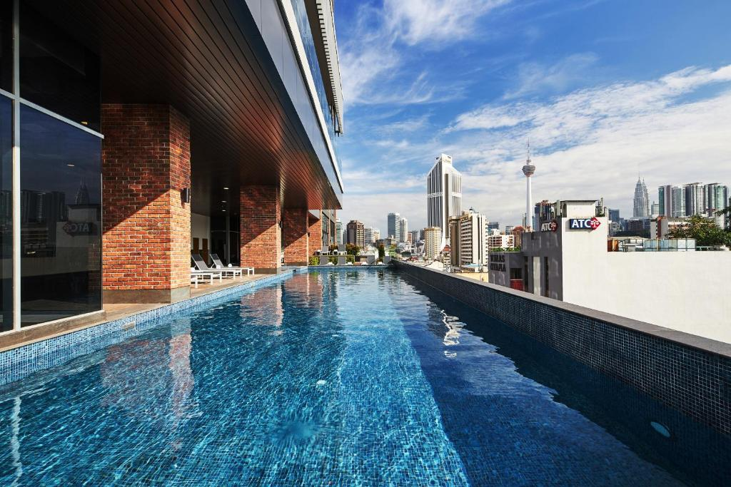 The swimming pool at or near Four Points by Sheraton Kuala Lumpur, Chinatown