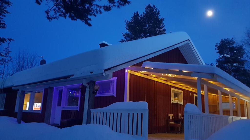 Apaja House talvella