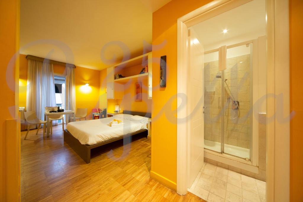 A bed or beds in a room at Ripetta 25