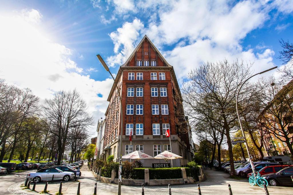 Hotel Wagner im Dammtorpalais im Winter