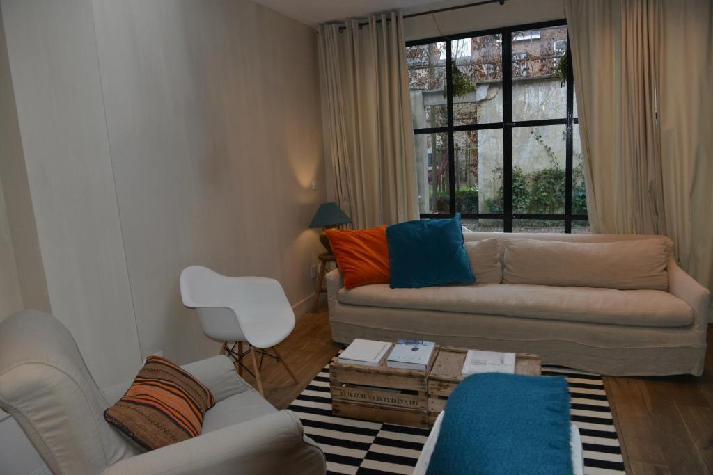 A seating area at Boetiekhotel Hemelhuys