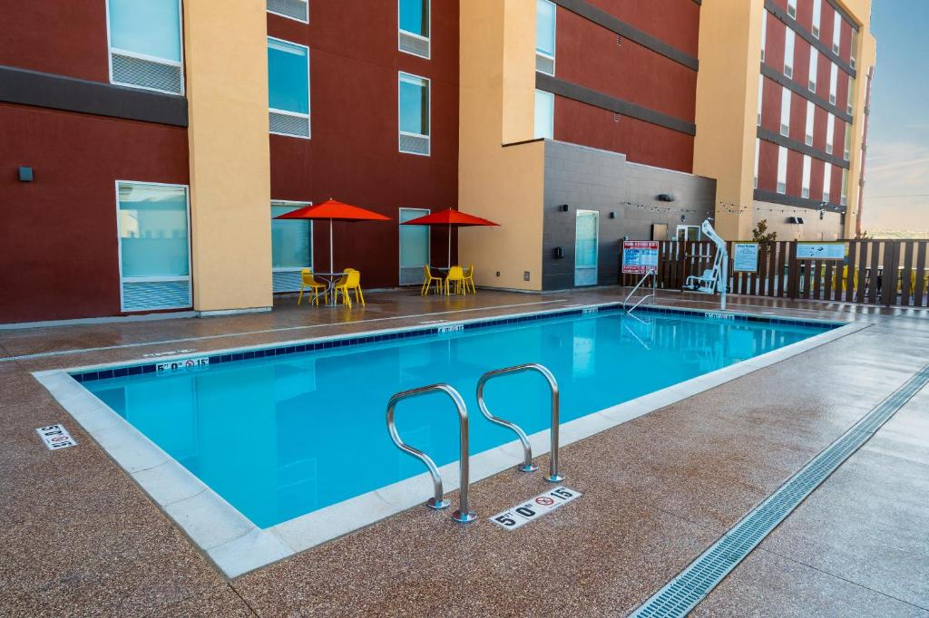 The Home2Suites Bakersfield.