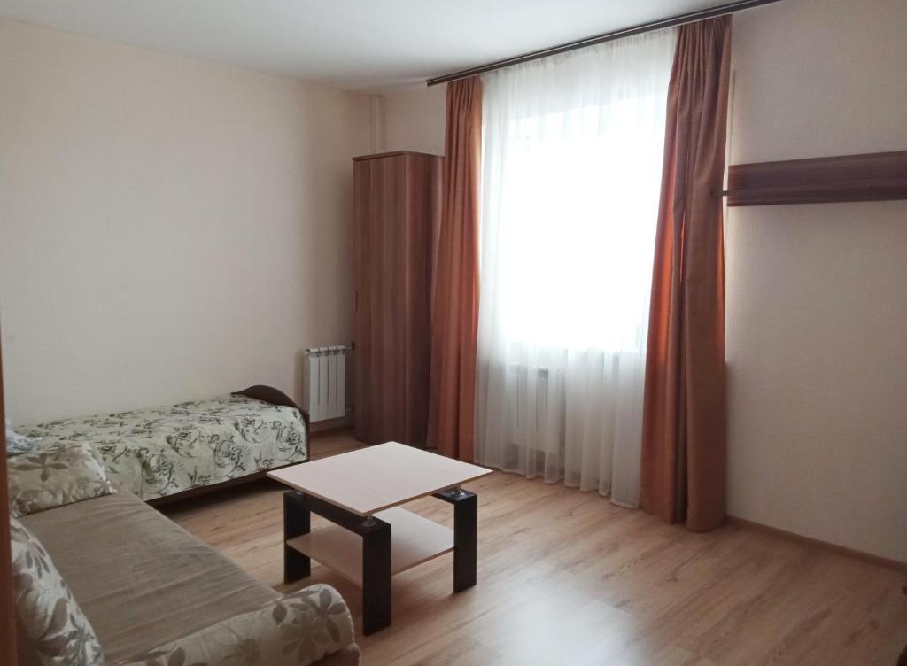 Гостиная зона в Respublikanskaya 6