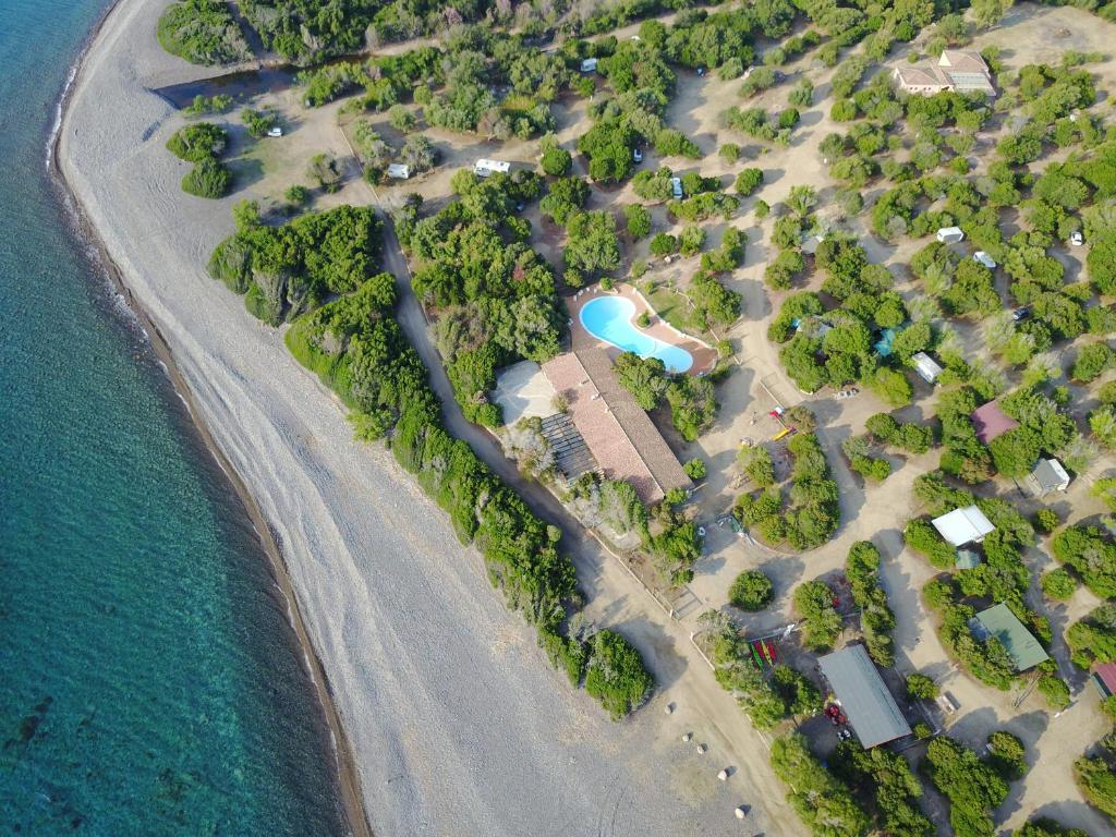 Vista aerea di New Camping Coccorrocci