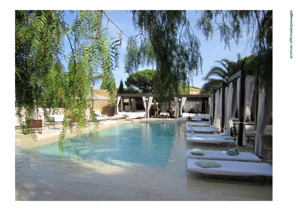 The swimming pool at or near Muse Saint Tropez / Ramatuelle