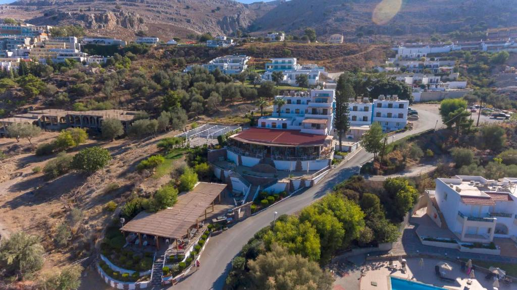 A bird's-eye view of Lindian Jewel Hotel and Villas