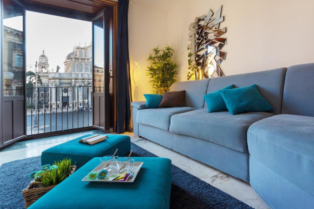 Le Suites Del Duomo Houseにあるシーティングエリア