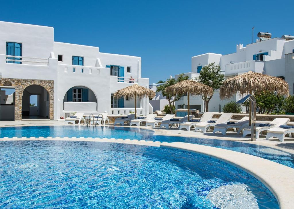 The swimming pool at or near Cycladic Islands Hotel & Spa