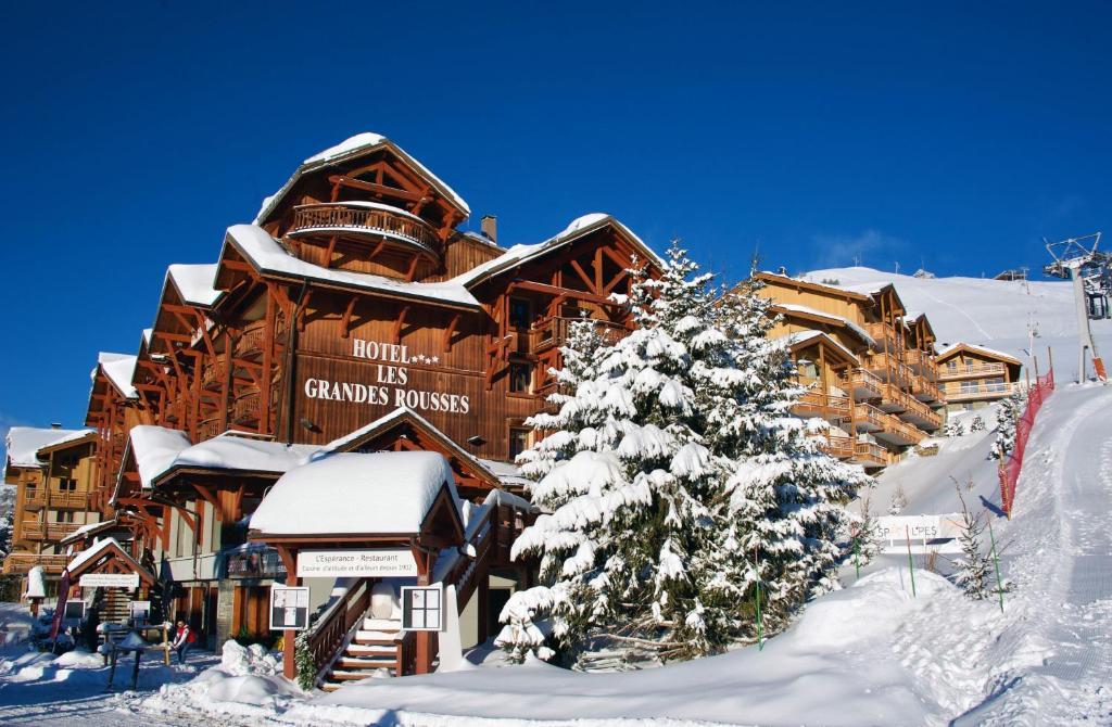 Hôtel Grandes Rousses in de winter