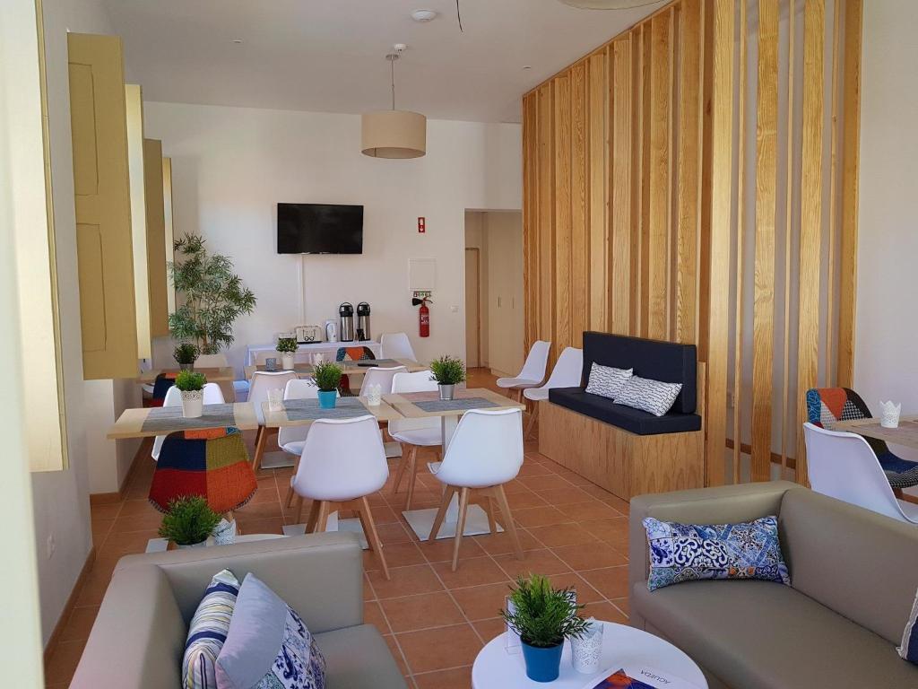 Zona de estar de Águeda Hostel & Friends