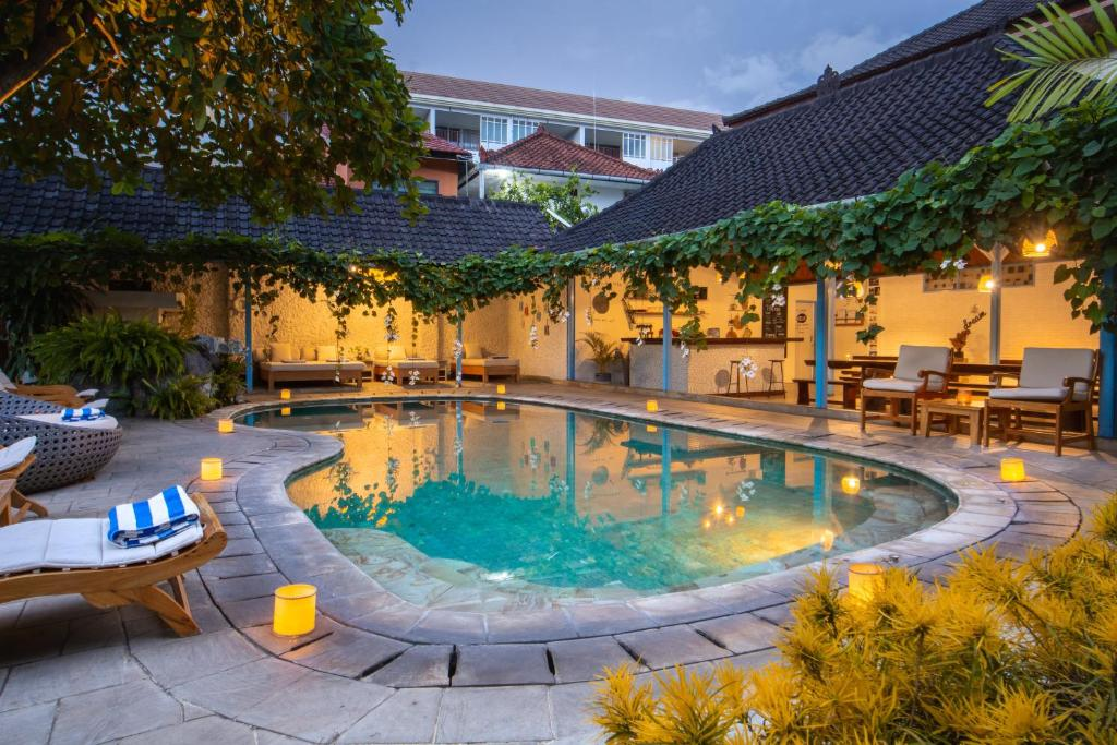 The swimming pool at or near Sanur House