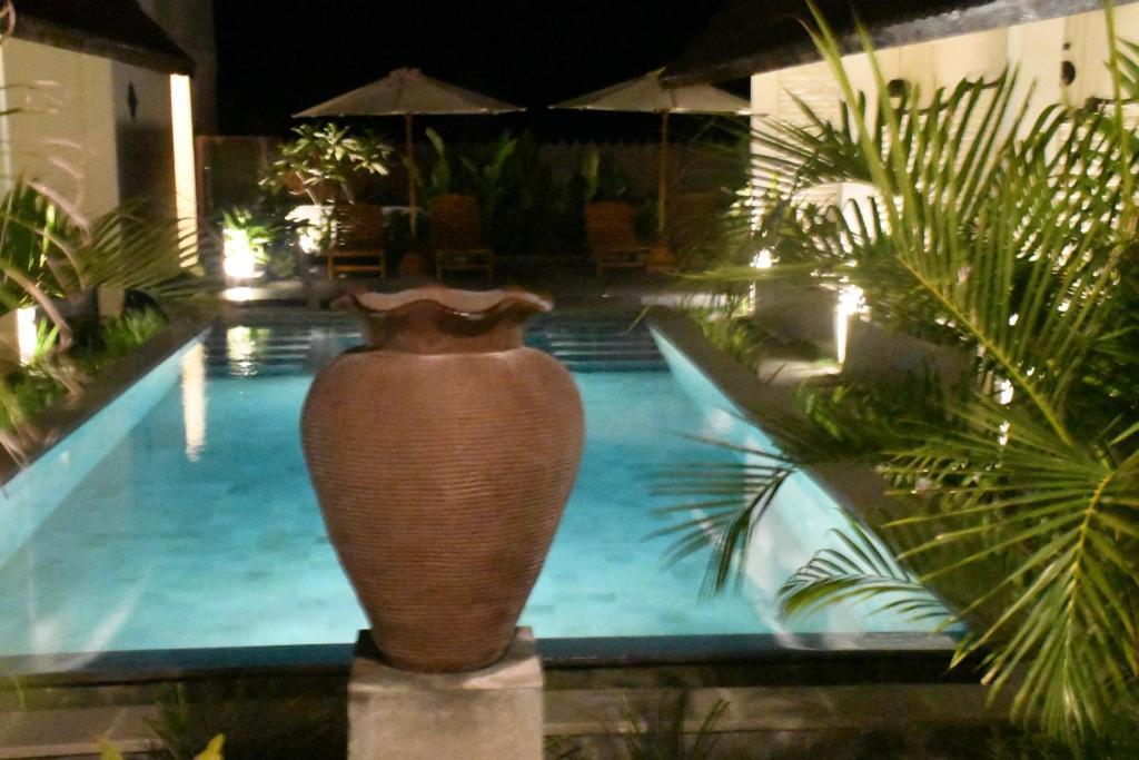 The swimming pool at or close to Bruga Villas Restaurant and Spa