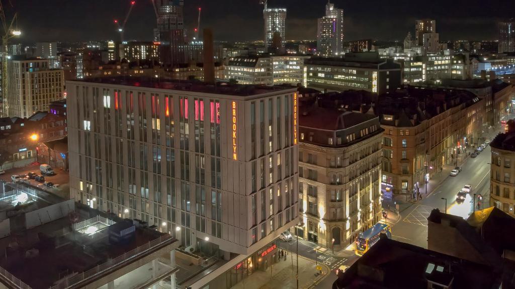 A bird's-eye view of Hotel Brooklyn