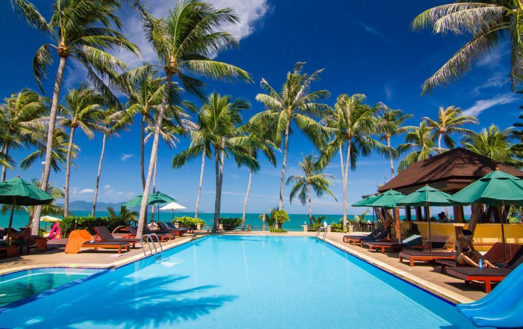 Het zwembad bij of vlak bij Coco Palm Beach Resort - SHA Plus