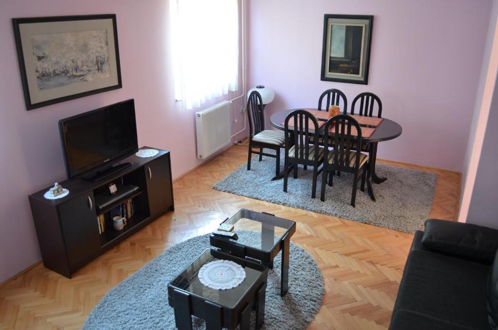 Prostor za sedenje u objektu Ada apartments - Beograd
