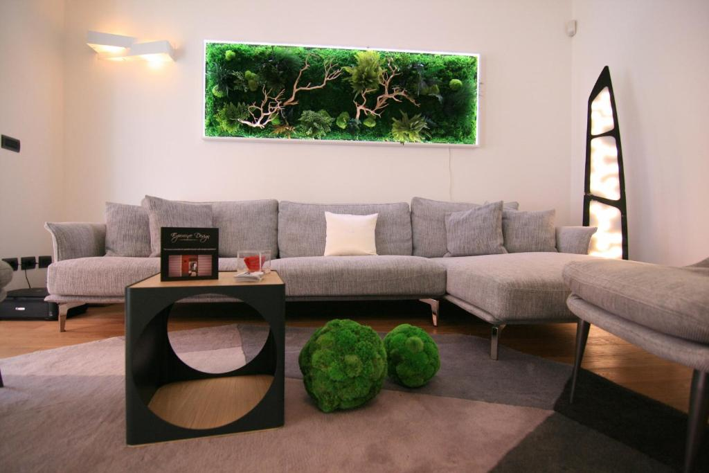 A seating area at Experience Design Bed&Show