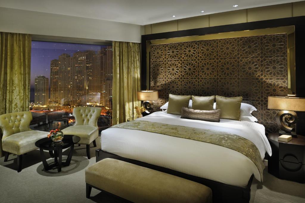 A room at the Address Dubai Marina.