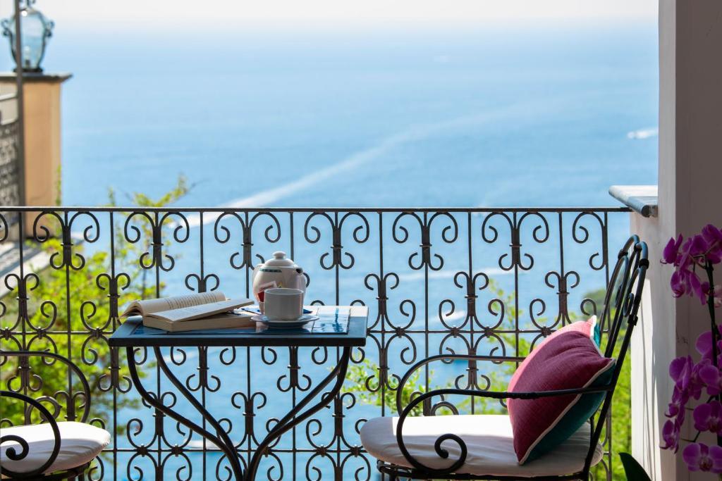 Balcone o terrazza di Positano Art Hotel Pasitea
