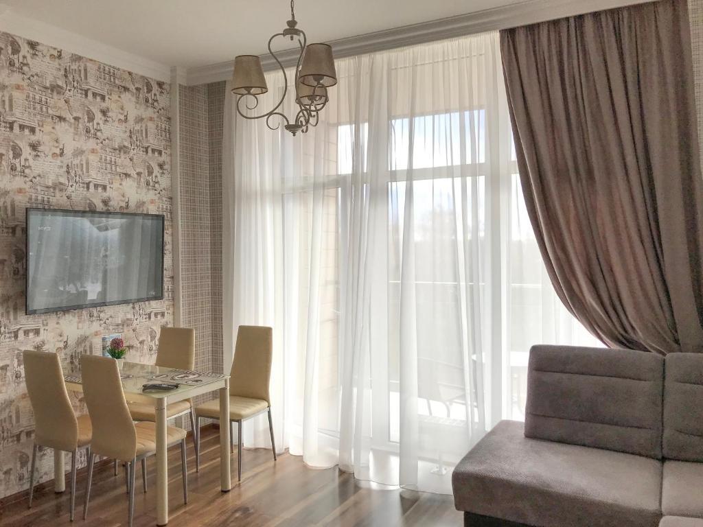 Гостиная зона в Sunny Svetlogorsk 22