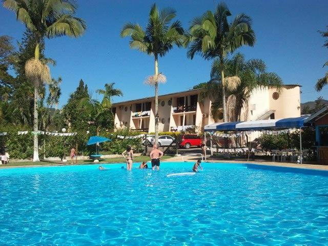 The swimming pool at or near Hotel Termas Rio do Pouso