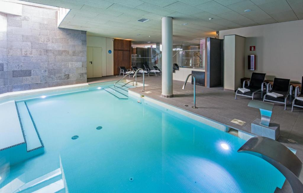 The swimming pool at or near Hostal Trainera