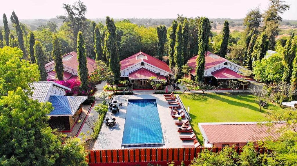 A bird's-eye view of Ruby True Hotel