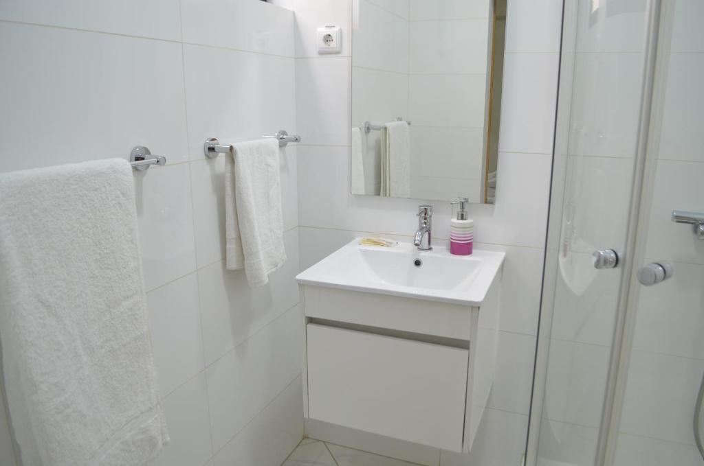 Ванная комната в LT Aparthotel
