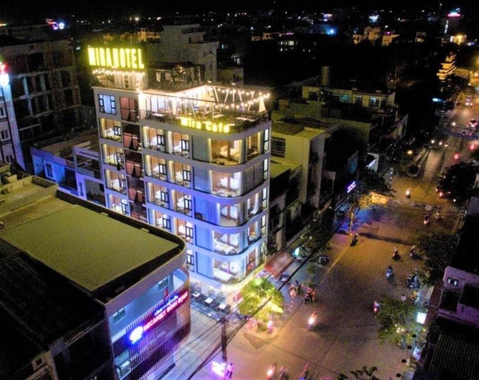 A bird's-eye view of Mira Hotel Quy Nhơn