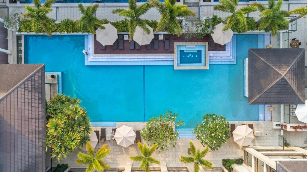 A view of the pool at Oaks Casuarina Santai Resort or nearby