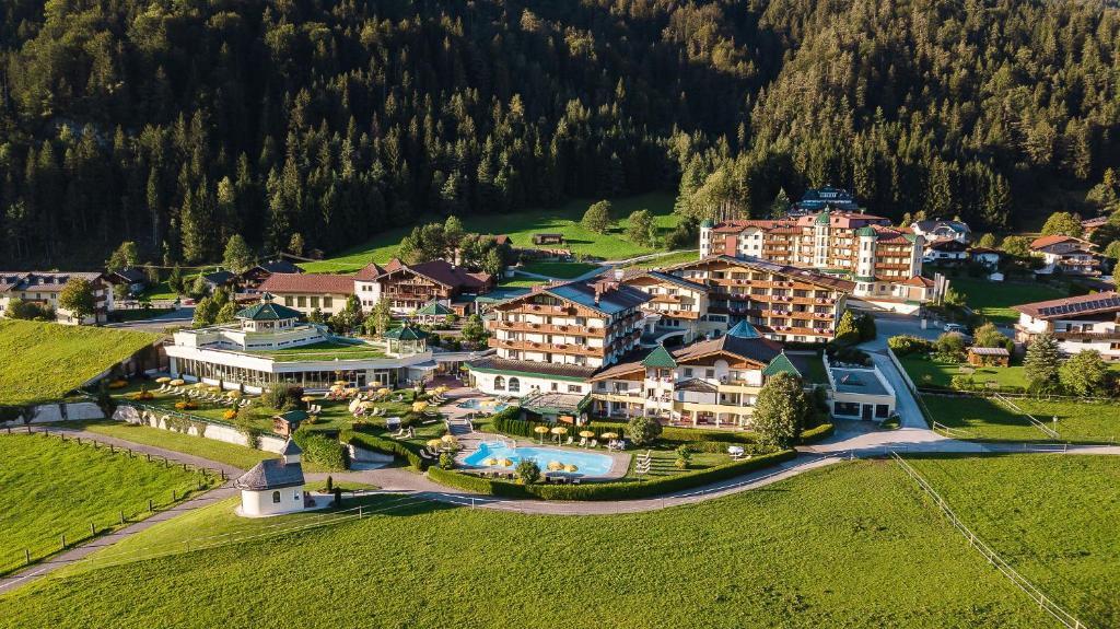 A bird's-eye view of Hotel Seehof