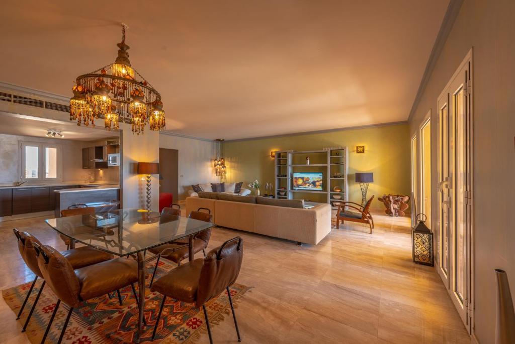 Restoranas ar kita vieta pavalgyti apgyvendinimo įstaigoje VESTA - El Gouna Residence