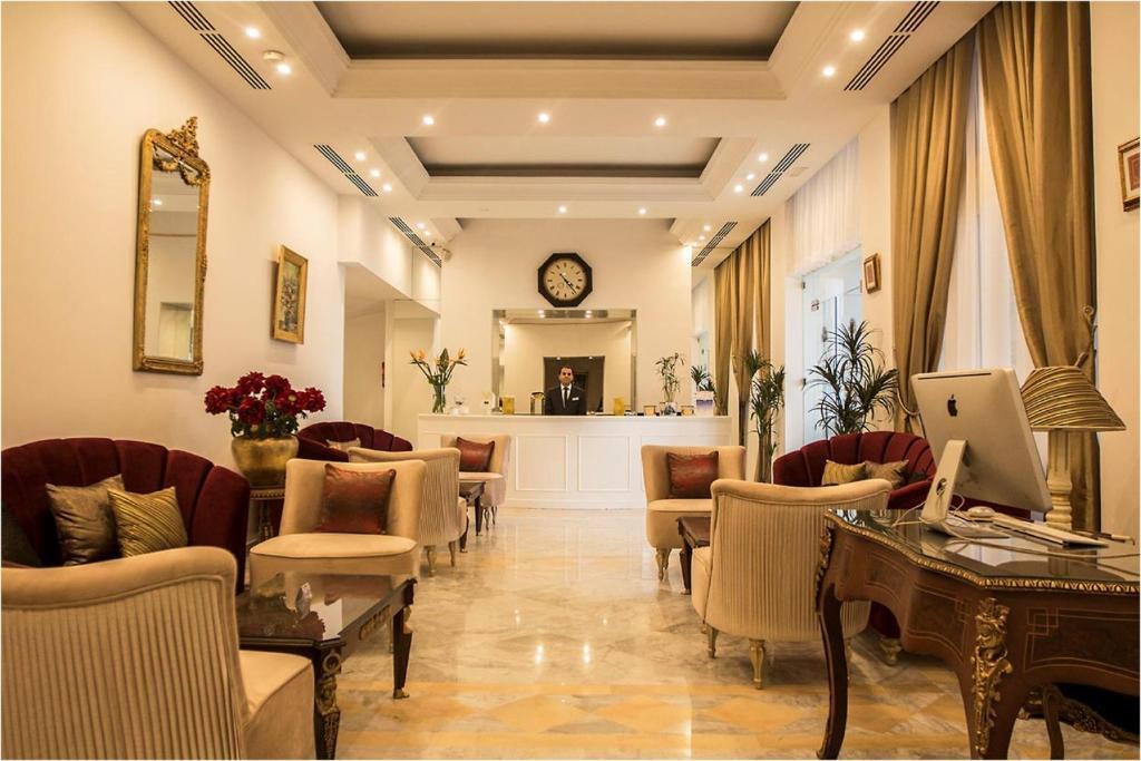 ホテル ラ メゾン ブランシェのロビーまたはフロント