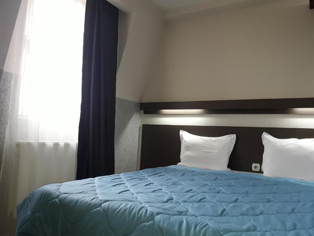 Krevet ili kreveti u jedinici u okviru objekta Stan na Dan Konstantin 2008
