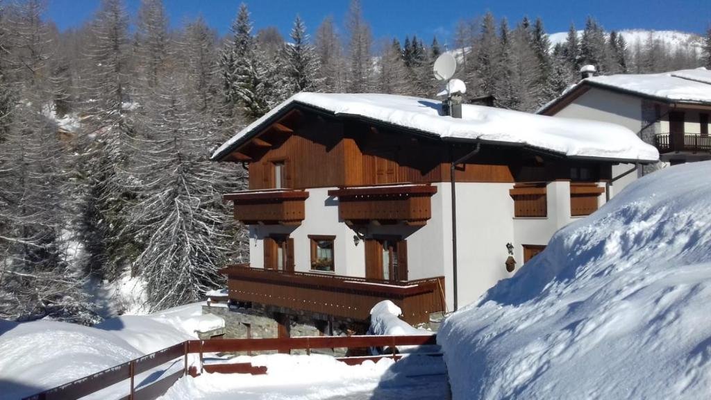 Appartamento Edelweiss during the winter