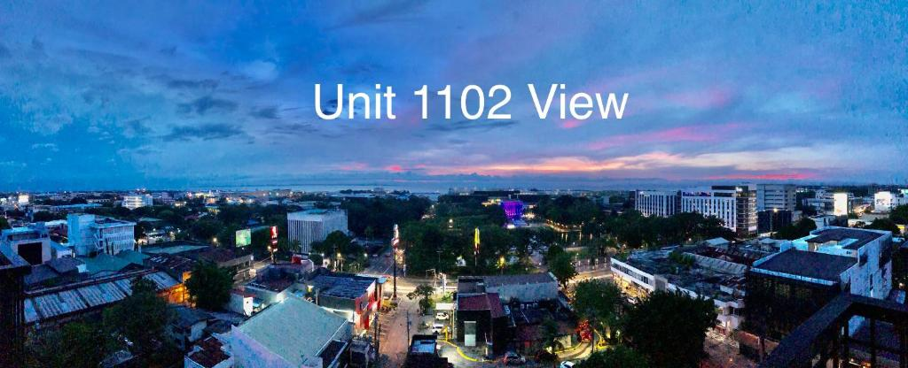 A bird's-eye view of Cityscape Residences Unit 1102