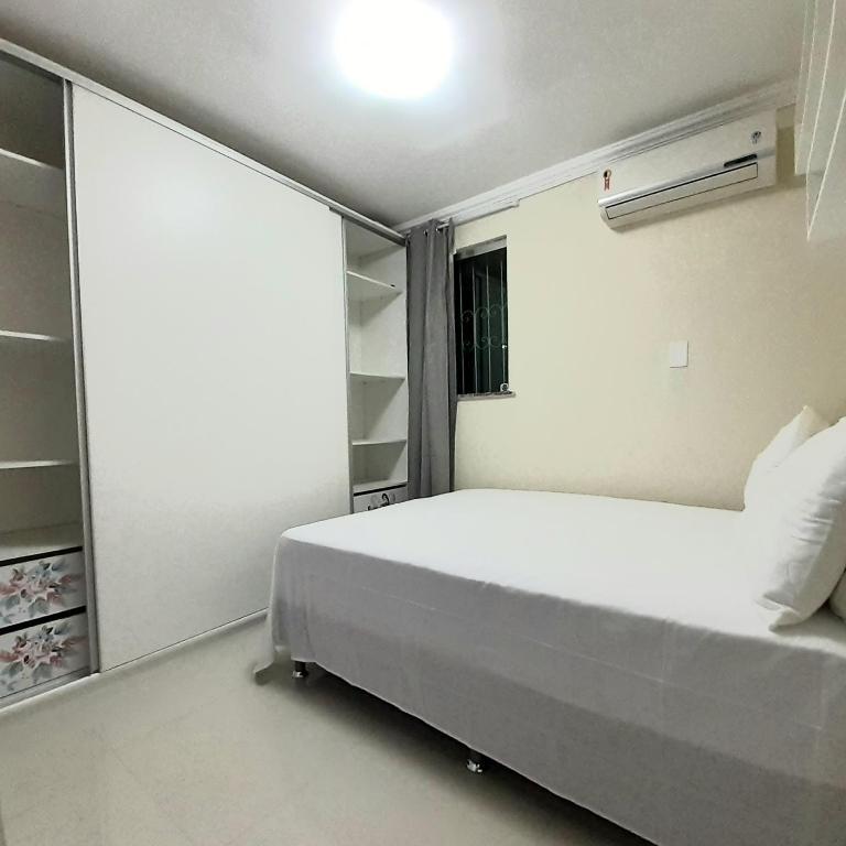 Cama o camas de una habitación en Apart. Cond. Guaianas 3q
