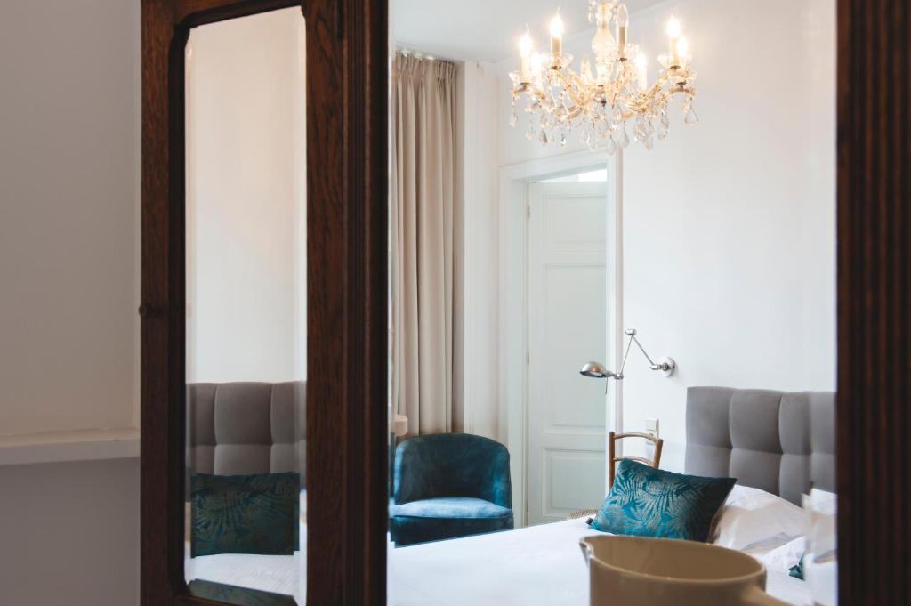 Ein Badezimmer in der Unterkunft B&B La Passion Interdite