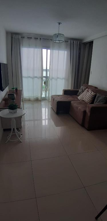 A seating area at Cloc Marina Residence