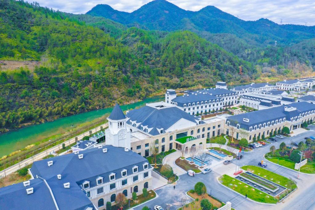 A bird's-eye view of SSAW Boutique Hotel Lishui Jiarui